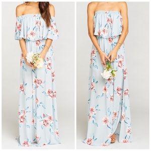 Show Me Your Mumu Hacienda Maxi Dress Flower Hour